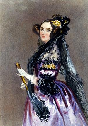 Ada Byron - Lady Lovelace - première programmeuse informatique